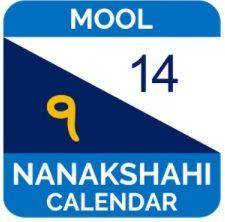 Mool Nanakshahi Calendar